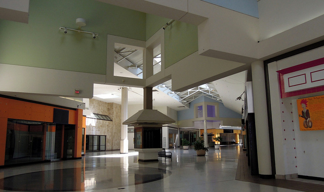 inside the Crestwood Mall