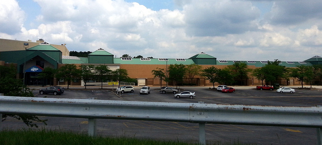 the Crestwood Mall from Watson Road