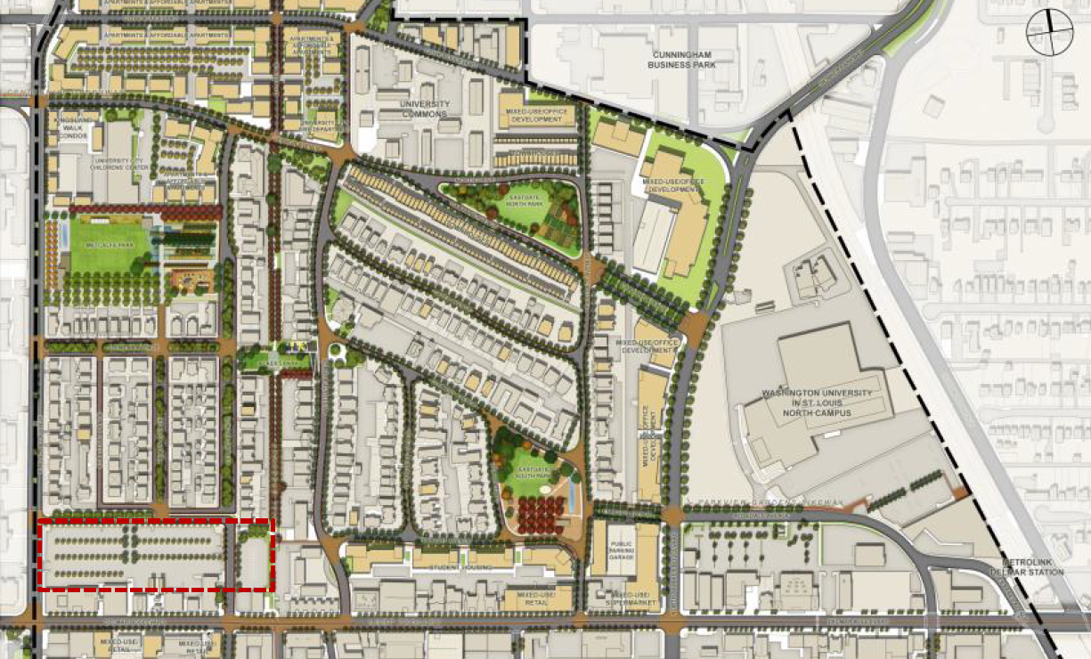 Parkview Gardens Draft Plan. From H3 Studios presentation