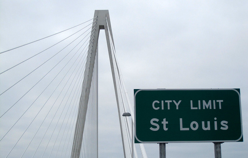 City of St. Louis Sign