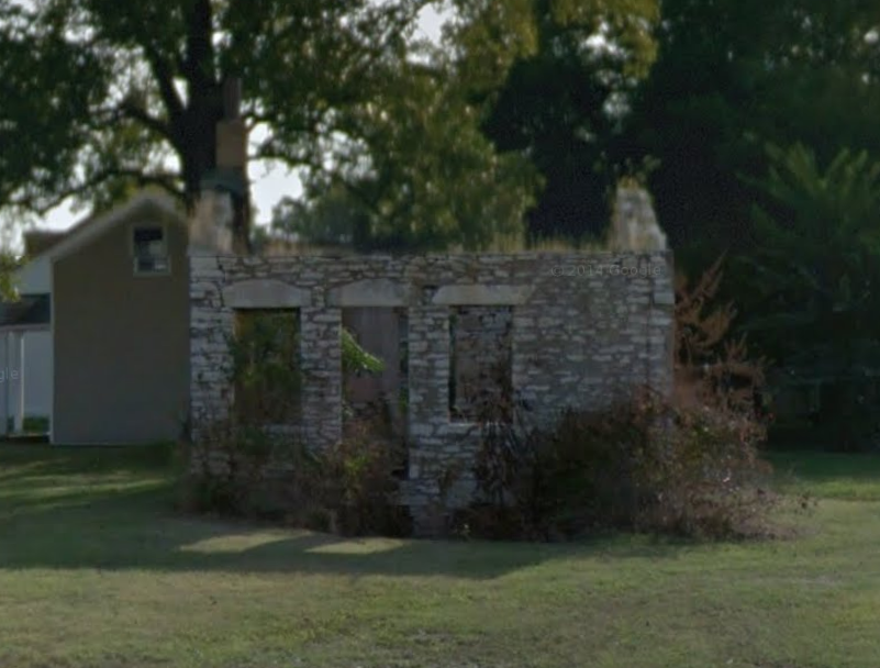 Stone House in Ruins to be Rehabbed (124 E. Steins)