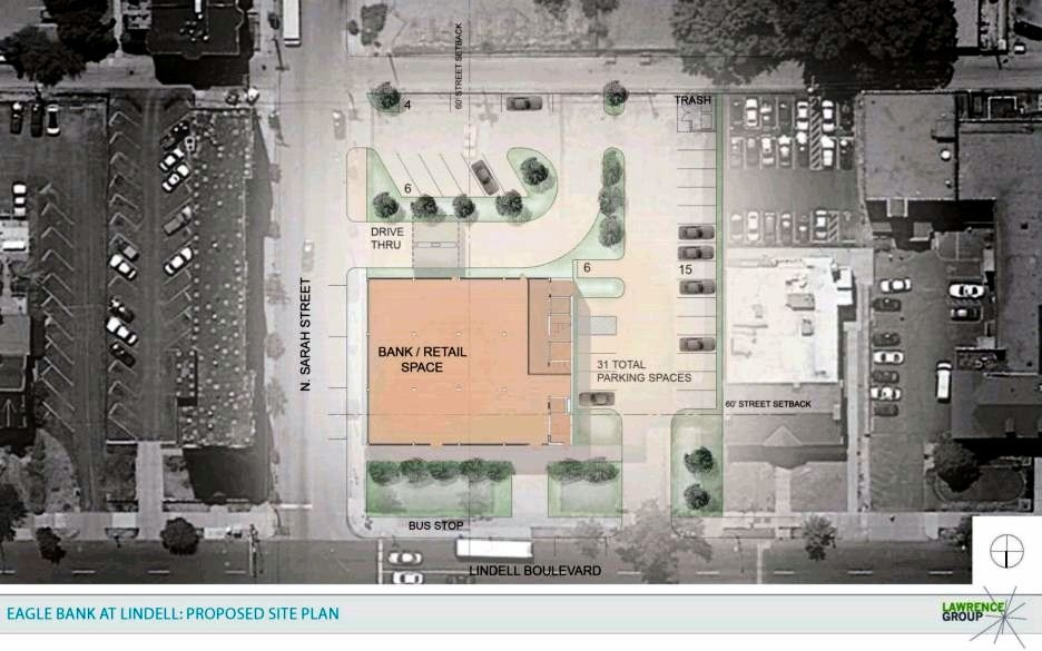 The Rehab Proposal Also Calls For Demolition Of Adjacent 4108 Lindell Building To West A Surface Parking Lot Existing