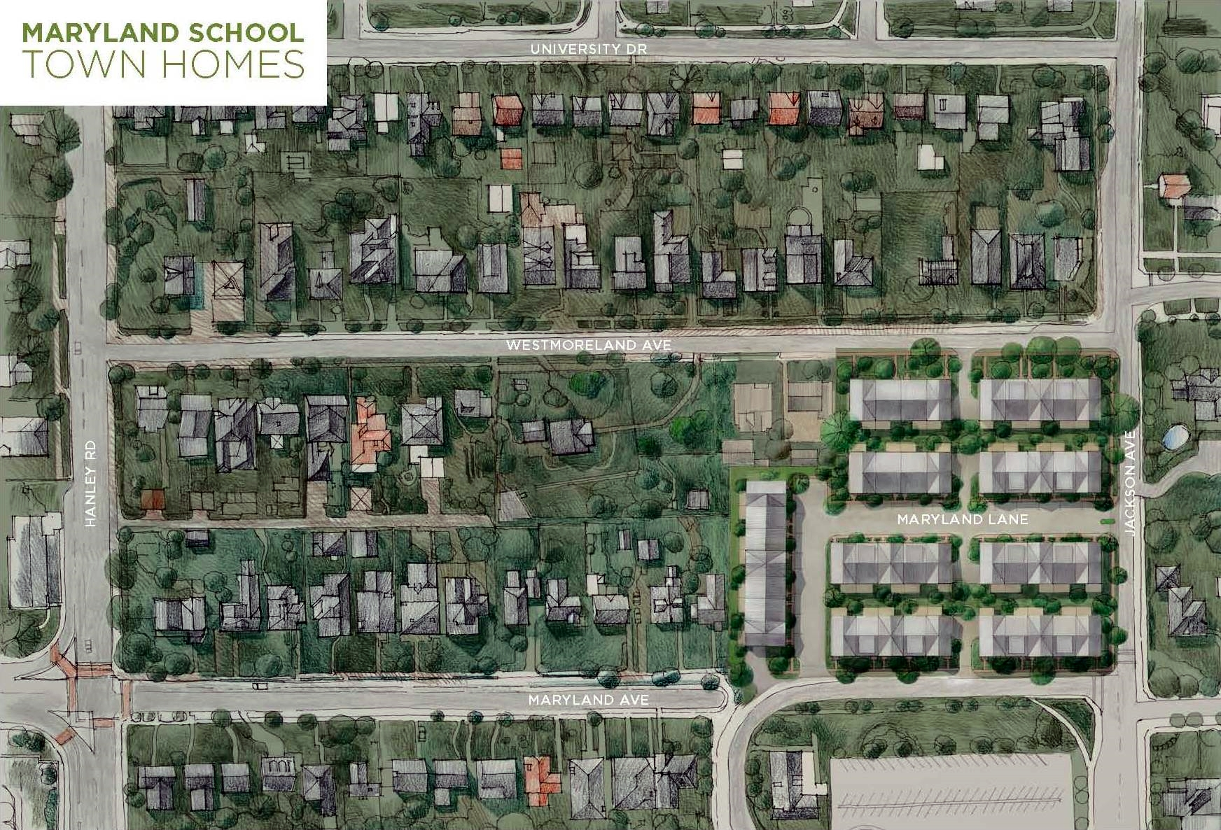 Maryland School Town Homes - Clayton, MO