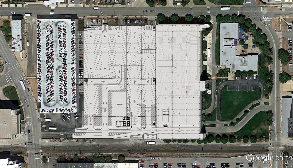 BJC parking garage