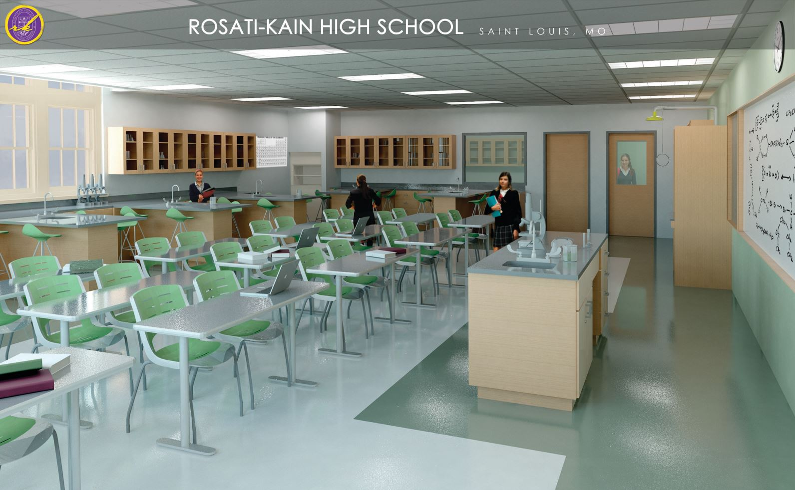 Rosati-Kain High School expansion project - St. Louis, MO