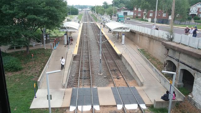 Wabash Station, Delmar MetroLink Station - St. Louis, MO