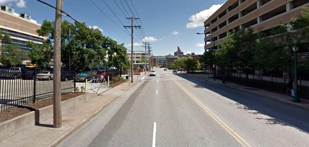 Taylor Avenue streetscape - BJC/WUSM campus