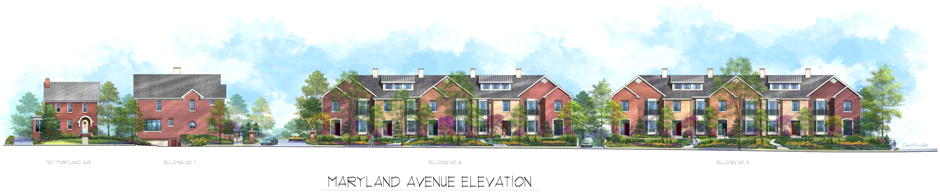 Maryland School Townhomes - Clayton, MO