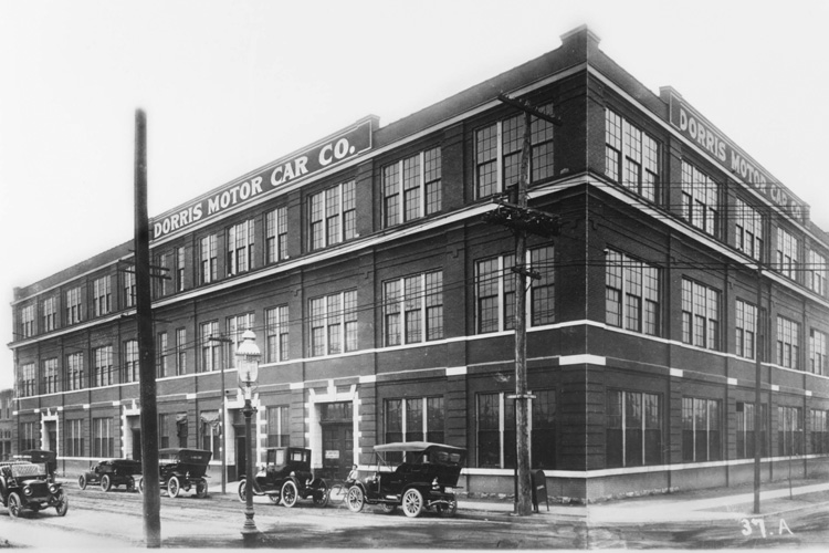 From Dorris Motor Co. to Biotech Startups, A Building's History of Entrepreneurship