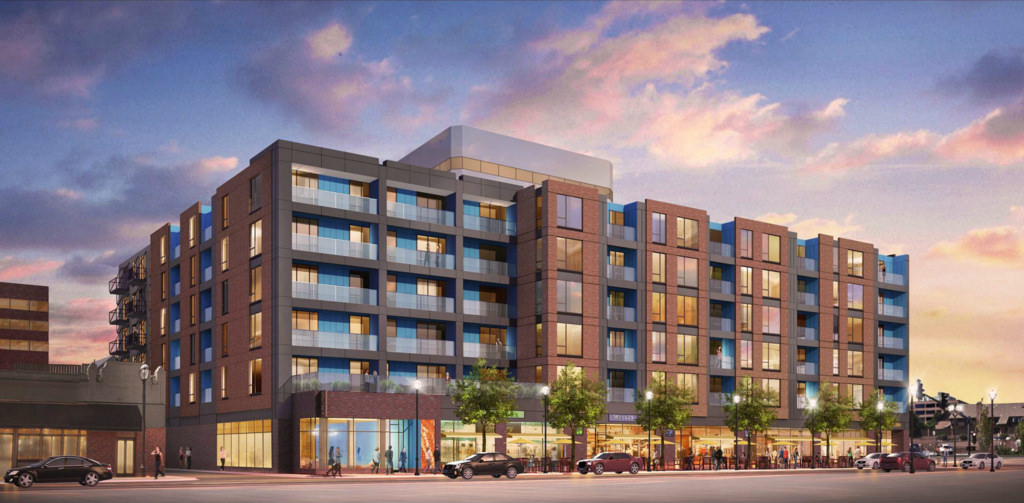 Opus Plans $41M, 120-Unit Mixed Use Project on Clayton's North Central Avenue