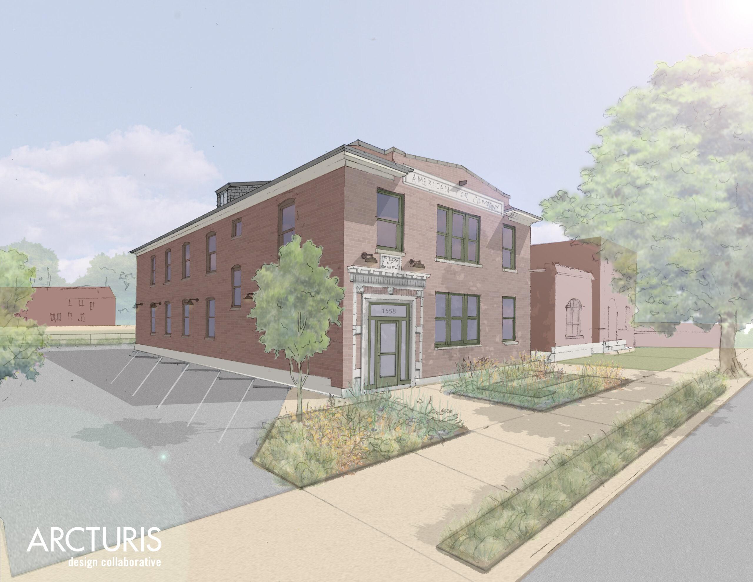 GadellNet To Renovate American Car Company Office Building On Vandeventer