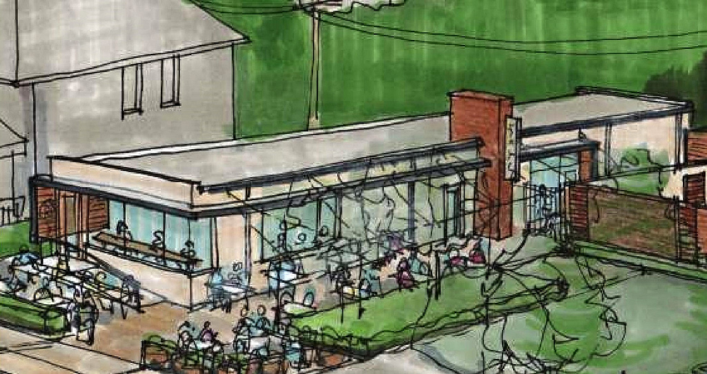 Unlikely Reuse Planned for Forgettable Vacant Building in Shaw