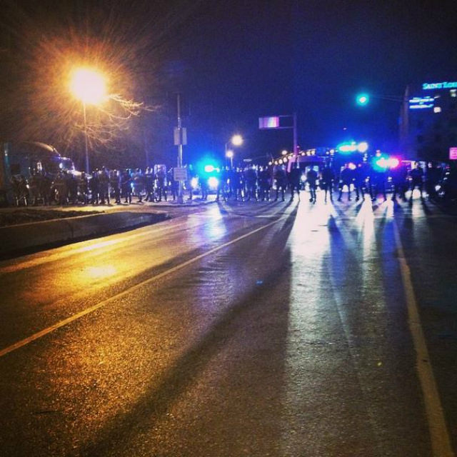 Seven Impressions of South Grand from the Night of The Decision