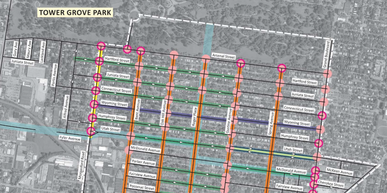 Ward 15 Study Recommends One-Way Conversions, Pedestrian Enhancements