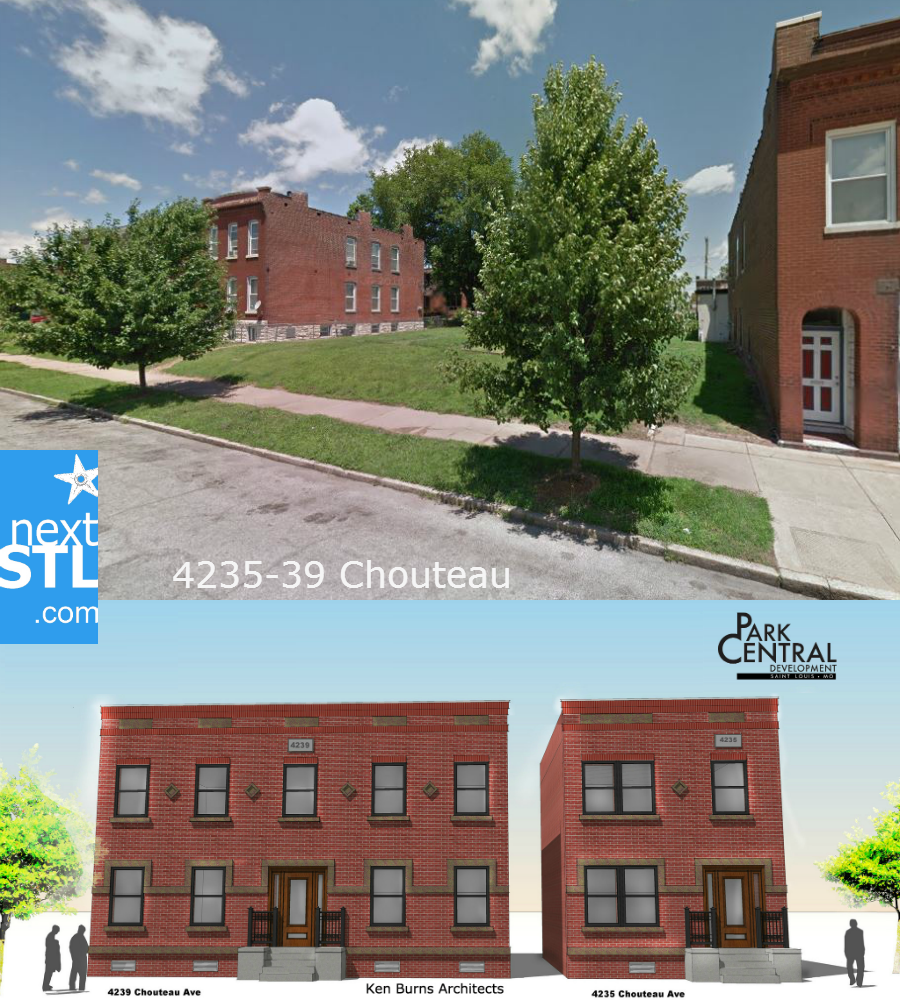 4235-39 Chouteau  proposal by Loni Development
