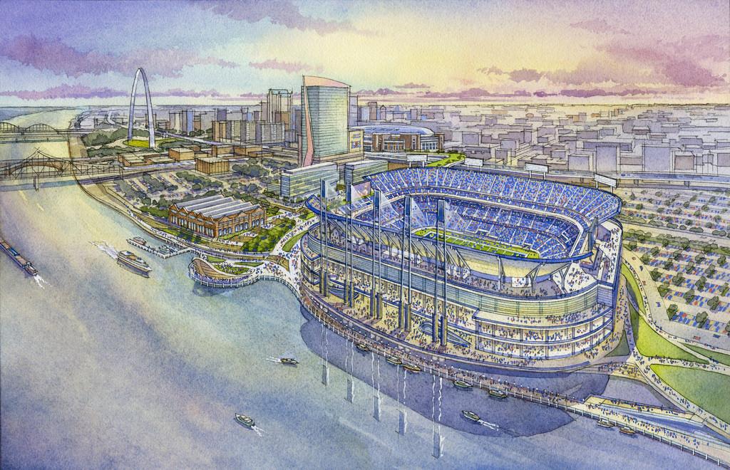 St. Louis Strikes Back: NFL Proposal for Riverfront Stadium Unveiled
