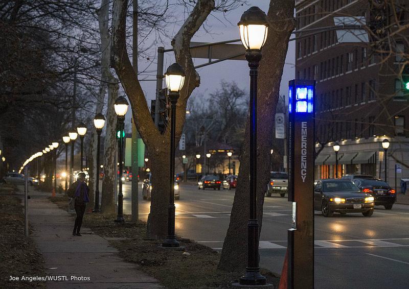Washington University Invests in Skinker Pedestrian Brightway