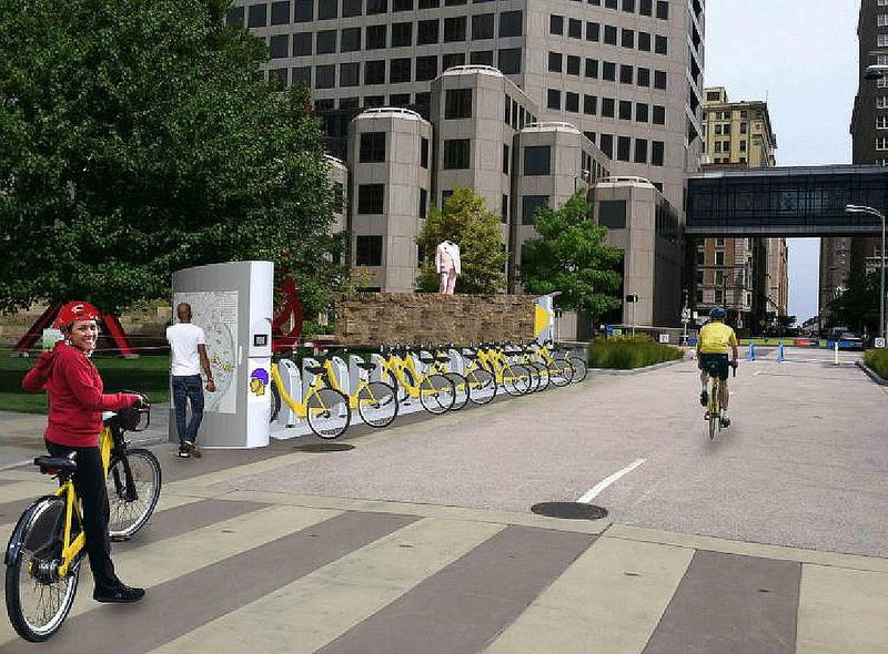 60-Station Bike Share System in Planning Stages for St. Louis