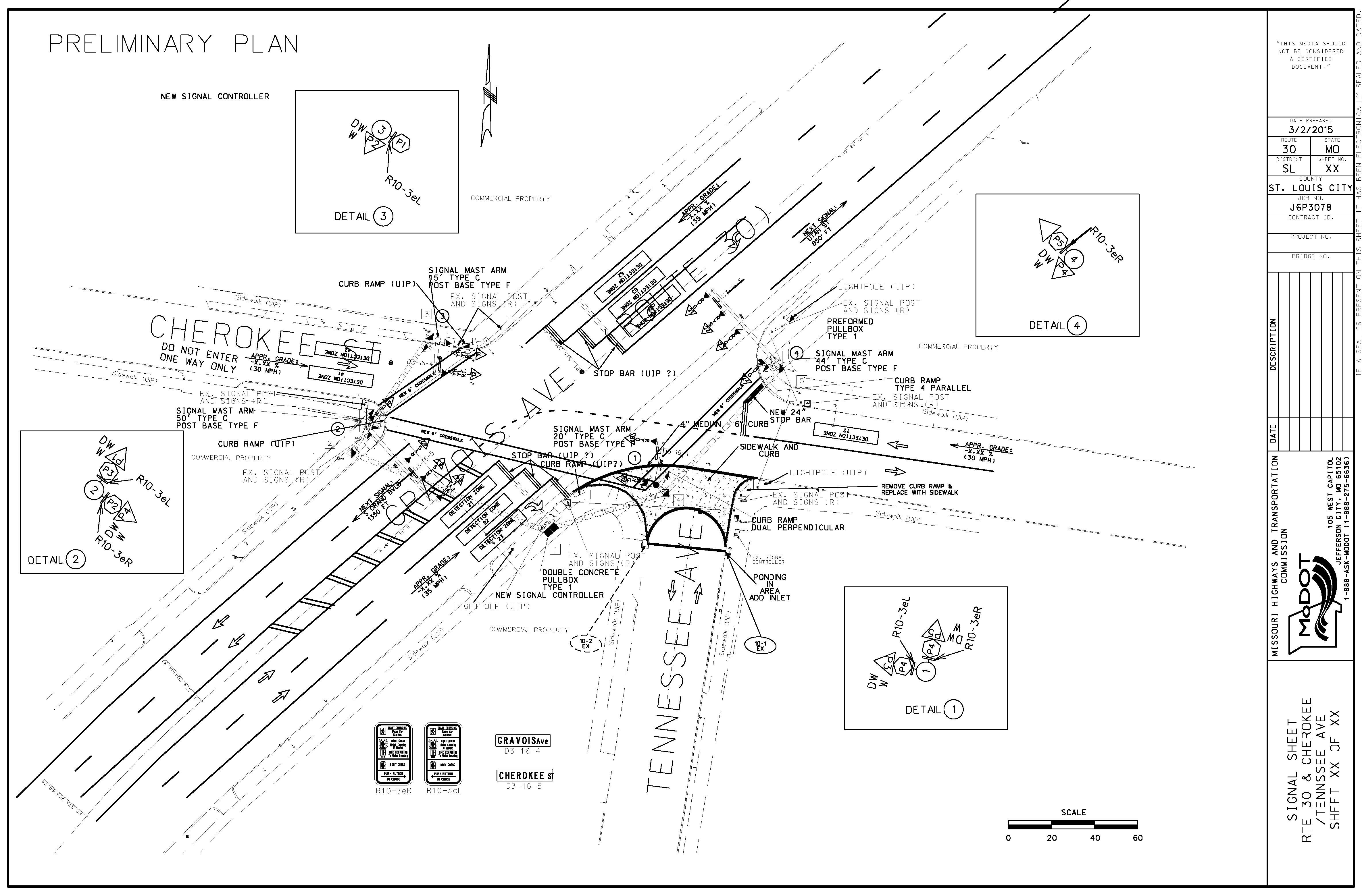 Gravois Avenue closures proposed - St. Louis, MO