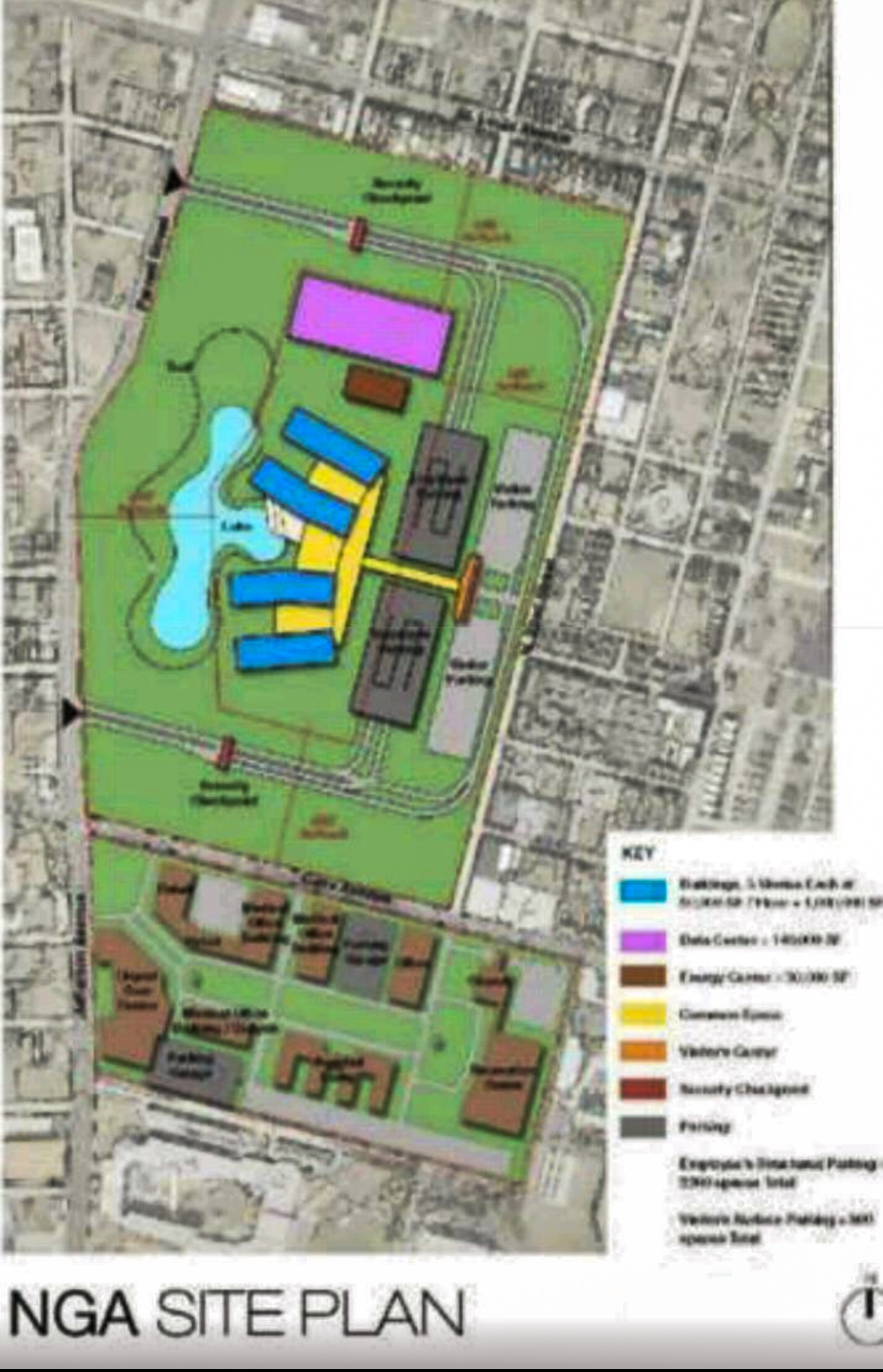 Next NGA West - City of St. Louis proposed site plan