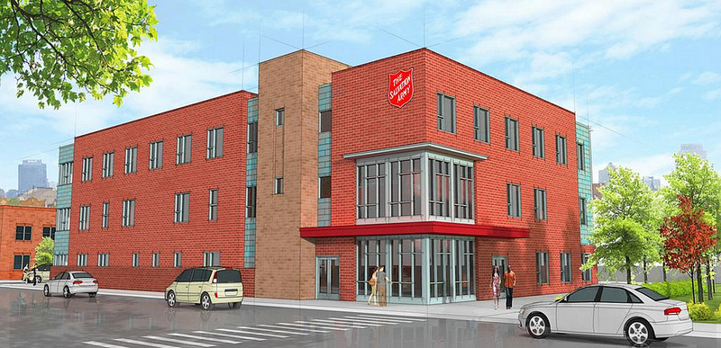 Salvation Army Continues $60M Midtown Project with Phase III