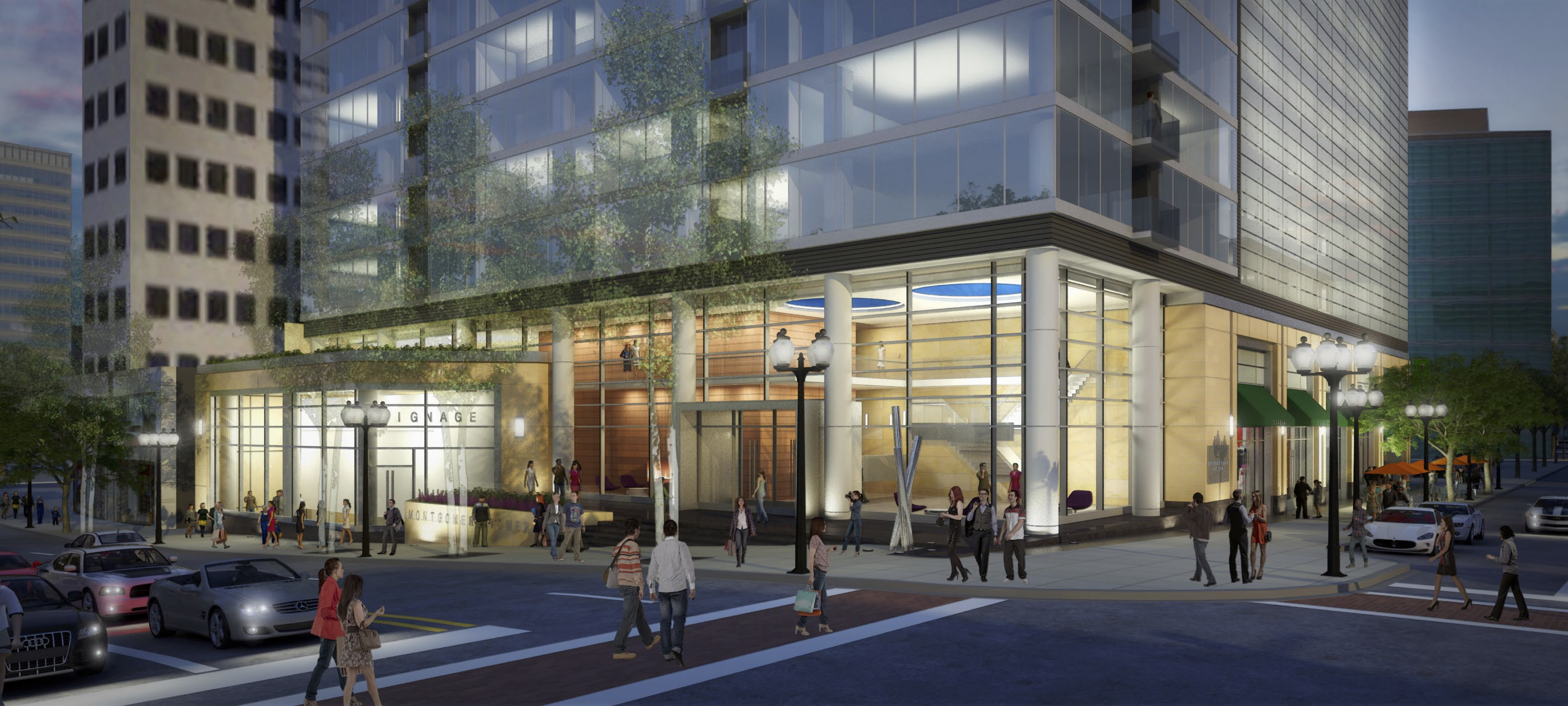 Montgomery Tower in Clayton Moves Ahead with Revised Design