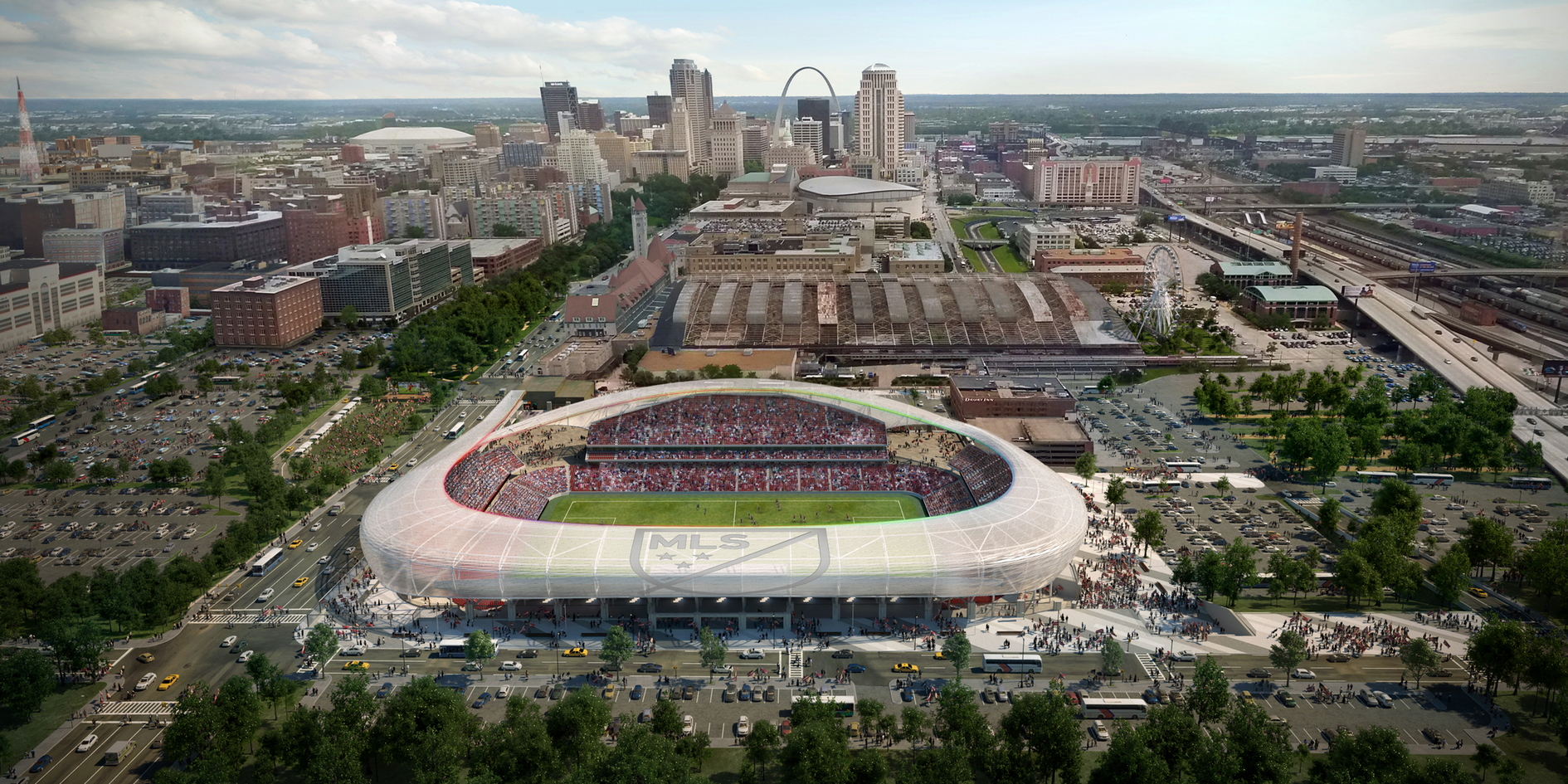 Major League Soccer Ownership Group, Stadium Plan Unveiled for St. Louis
