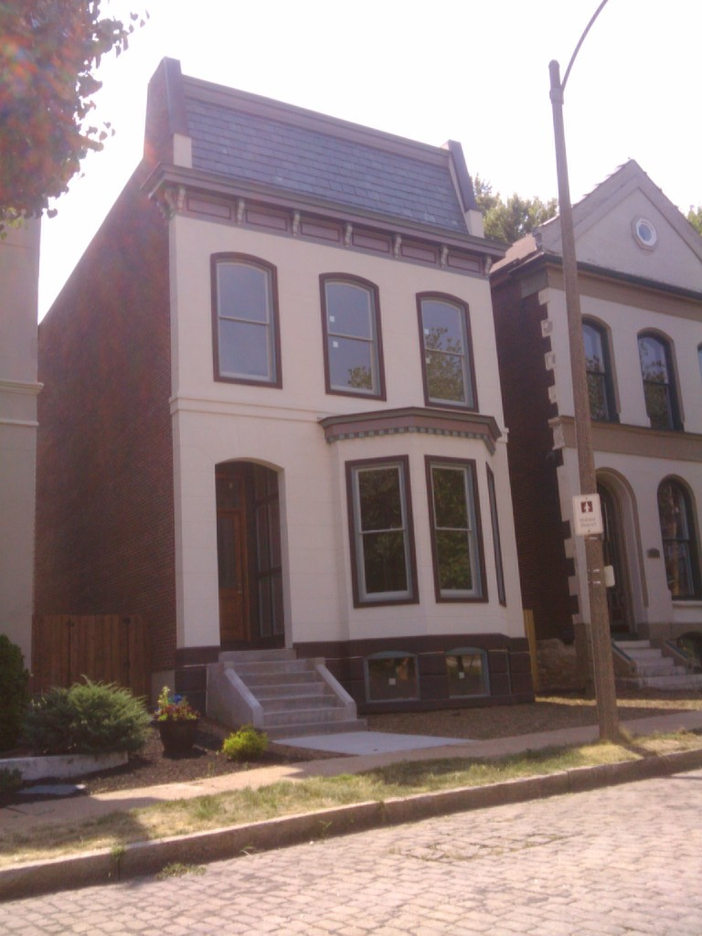 New Single Family Home Completed in Lafayette Square (1022 Mississippi)