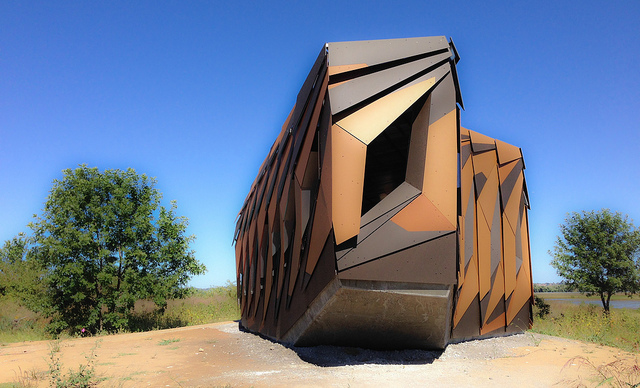 The Coolest Bird Blind You've Ever Seen and St. Louis As An Epicenter of Nature and Life
