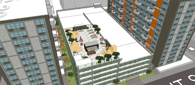 Parking Garage Proposed for Plaza Square, Challenging National Register Status
