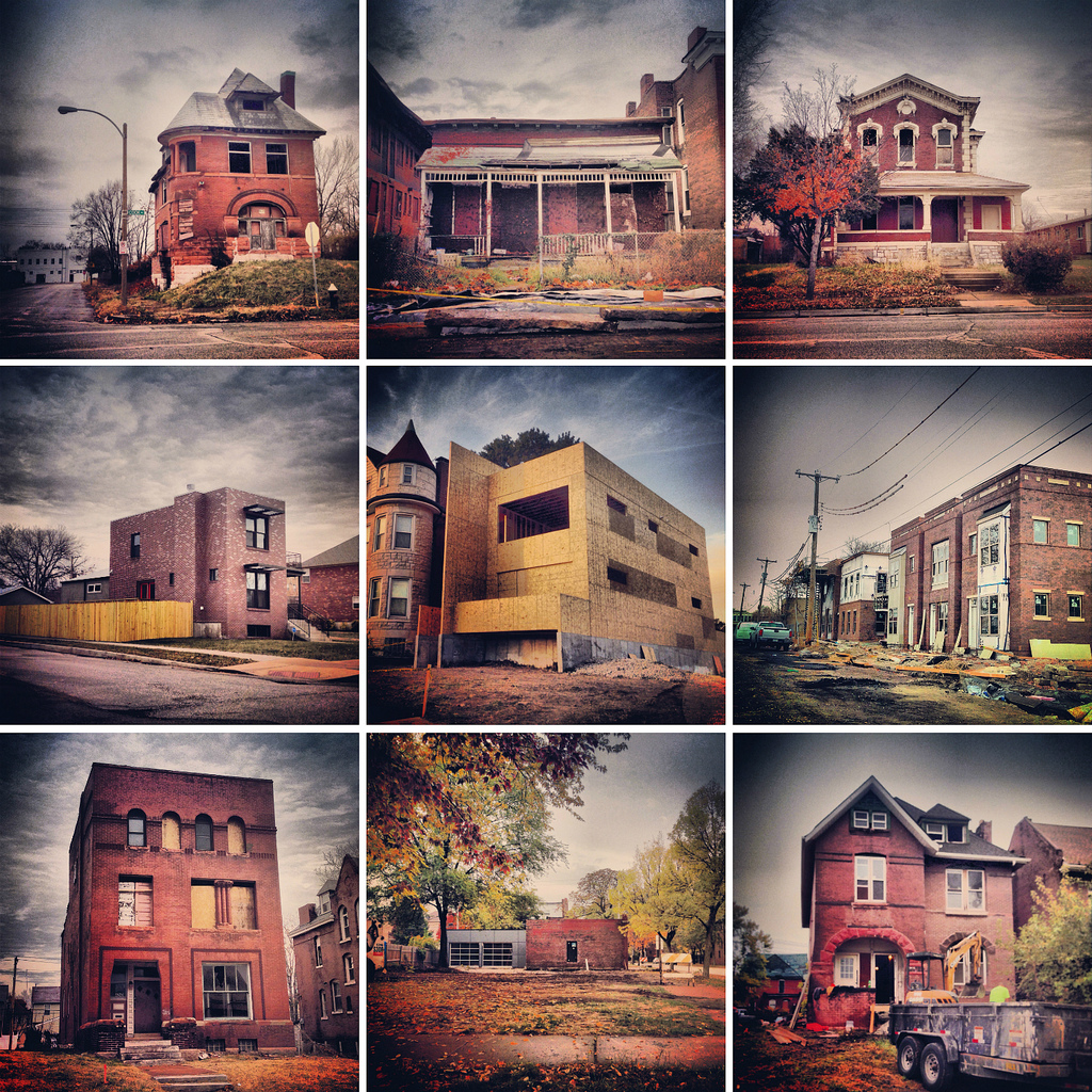 St. Louis Yesterday, Today and Tomorrow in 9 Buildings