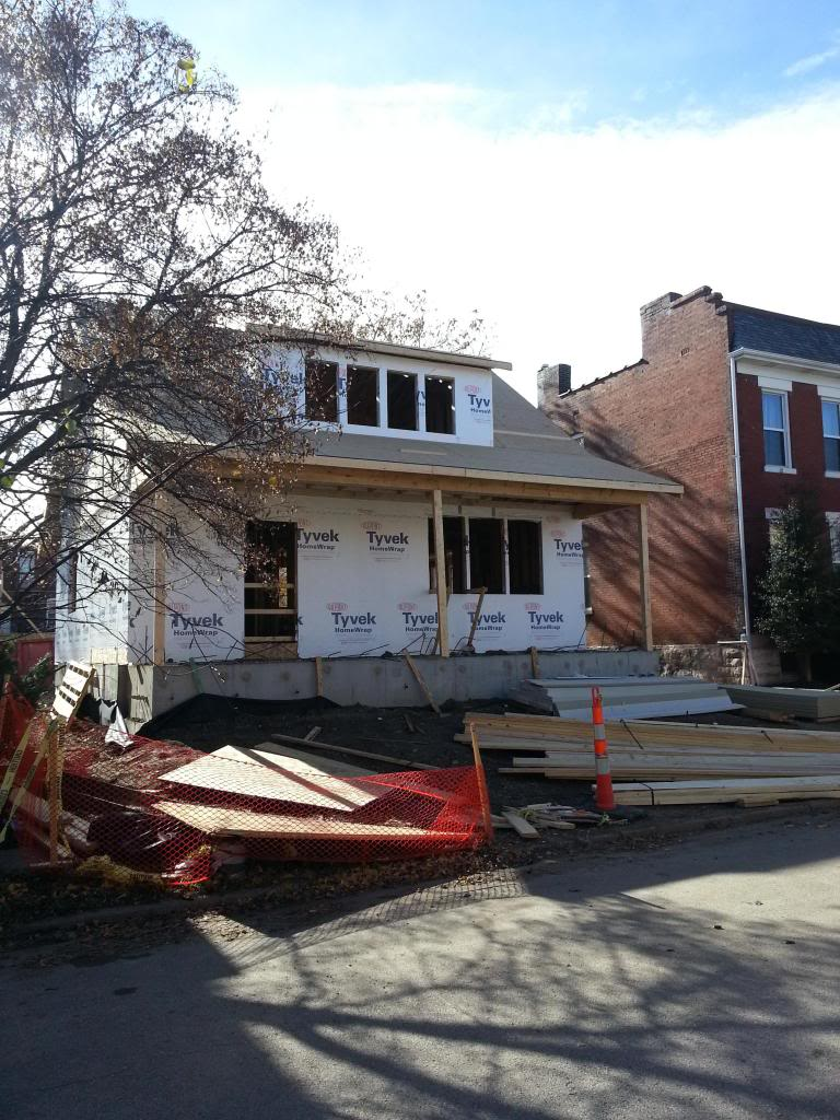 Update: Construction at 4136 Flad in Shaw Well Underway
