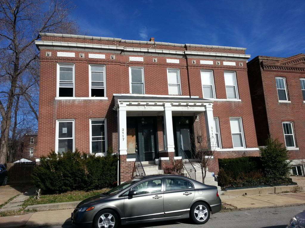 Benton Park Structure to be Rehabbed (2117 Withnell)