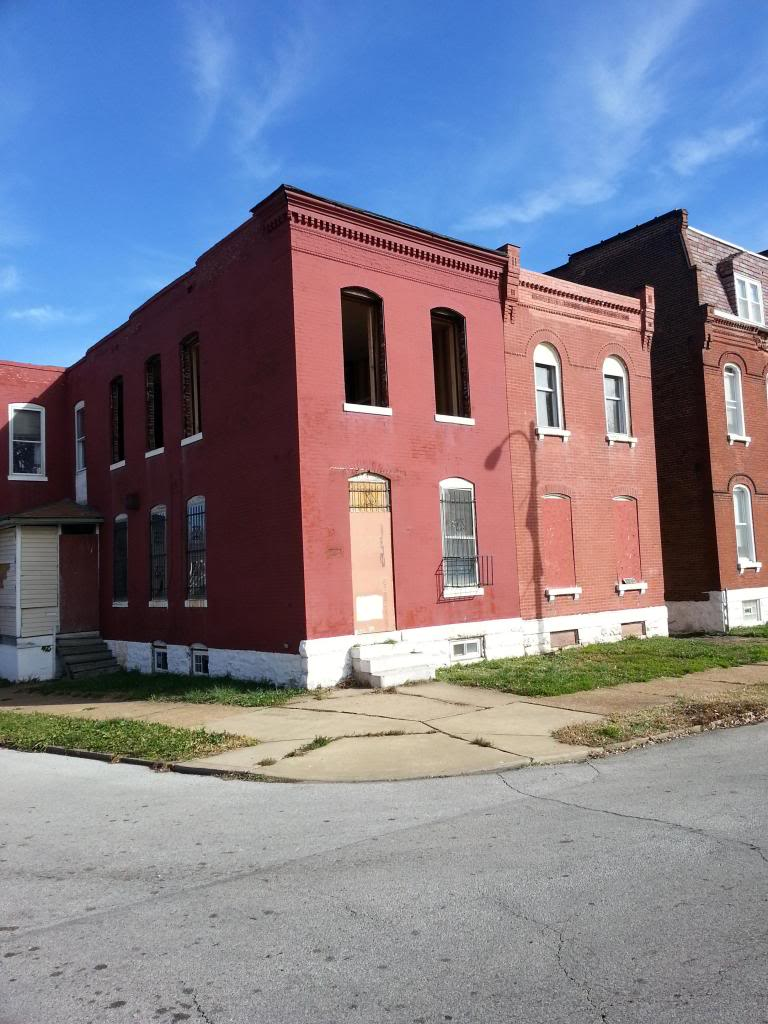 Benton Park West Structure to be Rehabbed (2725 Arsenal)