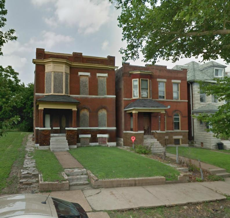 Pair of Two-Families in Gate District to be Rehabbed
