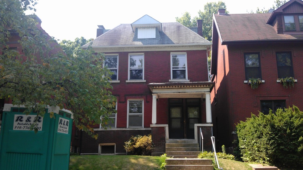 3838 S. Utah Place in Tower Grove South to be Rehabbed Soon
