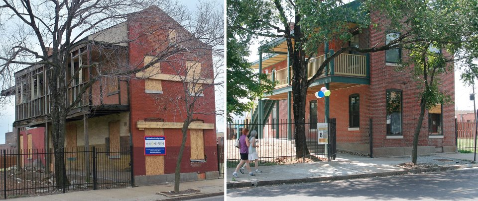 Rehab of Northside Workshop in Old North St. Louis Completed
