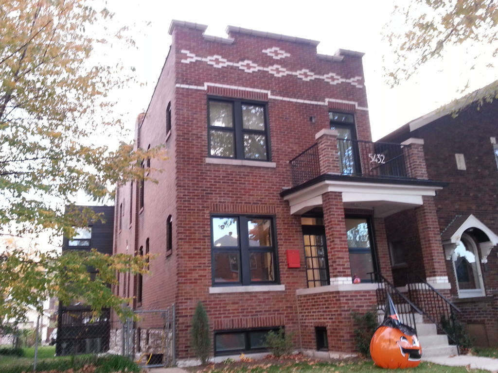 Princeton Heights Two-Family Sees Rehab (5432 Rhodes)