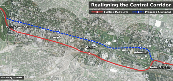 Realigning MetroLink to Better Serve St. Louis