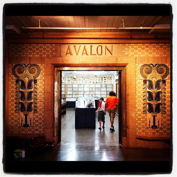 Avalon Theater Partially Reconstructed Inside City Museum