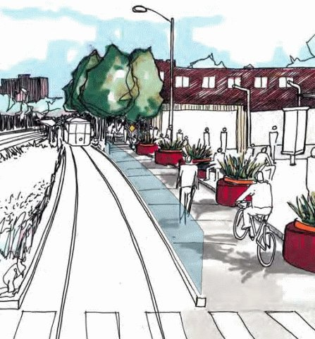 Single Tracking on Delmar May Kill Future Loop Trolley Expansion