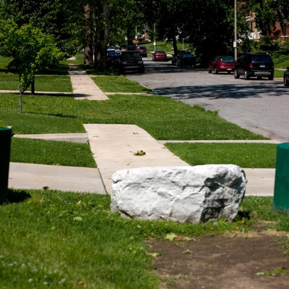 Walk Audit Finds Blocked Streets, Overgrown Lots and Missing Sidewalks in City's West End