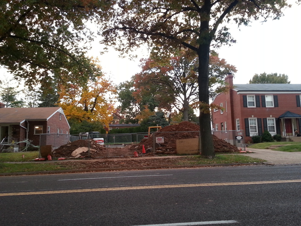 St. Louis Hills New Single Family Home Under Construction (5951 Jamieson)
