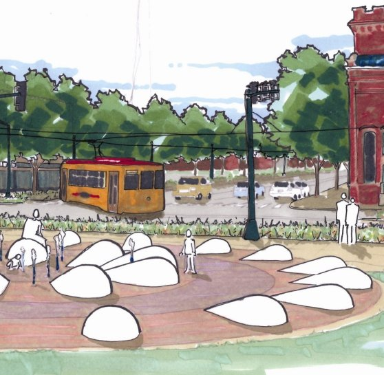 Meet Tim Borchers: the Man at the Controls of the Loop Trolley Project
