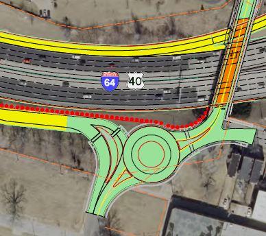 MoDOT Set to Build Tower Grove/I-64 Interchange