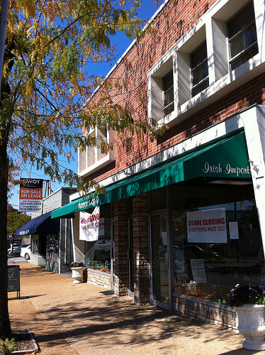 Self-inflicted Suburbanism: Kirkwood Looks to Demo Downtown Stores for Parking