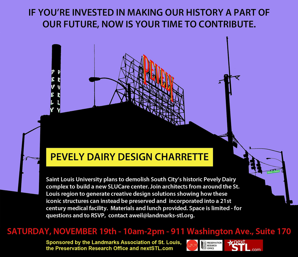 Pevely Dairy Charrette Seeks Public Input on Creative Alternatives to Demolition