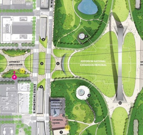 City+Arch+River Receives $20M TIGER III Grant, Awaits Possible Additional Funding