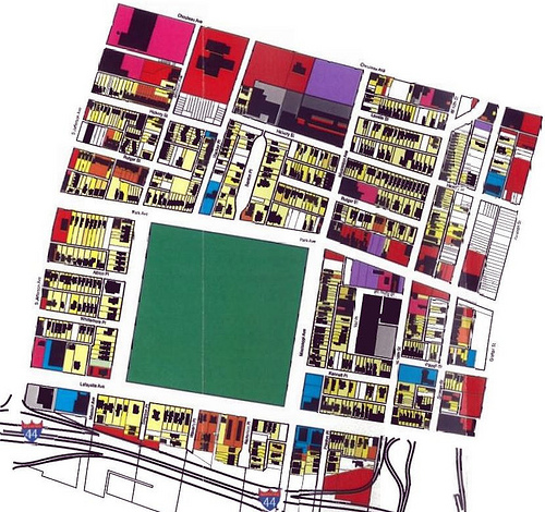 One City, Two Plans: Compare and Contrast of 2001 Lafayette Square & JeffVanderLou Plans