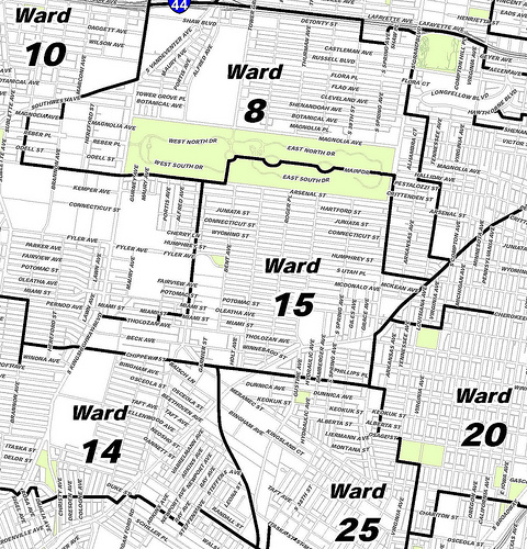 Young Begins Attempt to Shrink St. Louis Board of Aldermen from 28 Wards to 12